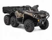 2015 OUTLANDER 6X6 1000 XT CAMO WITH FLAT BED KIT