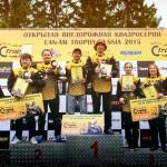 Первый этап Can-Am Trophy Russia 2015 подошел к концу. Фото и видеоотчет с гонки в Ижевске