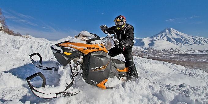 Дополнительный свет для снегохода