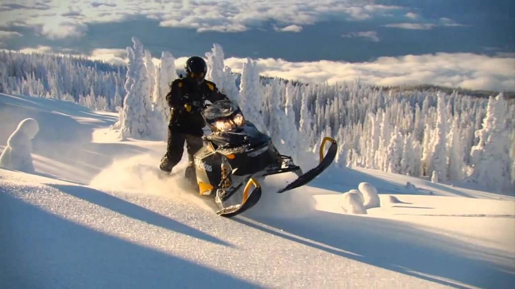 Тест драйв снегохода Ski-Doo