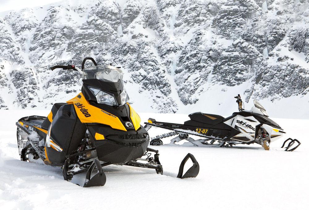 Замена амортизаторов на снегоходе