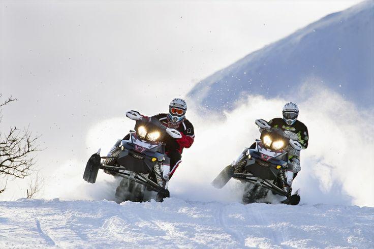 Лучшие спортивные снегоходы
