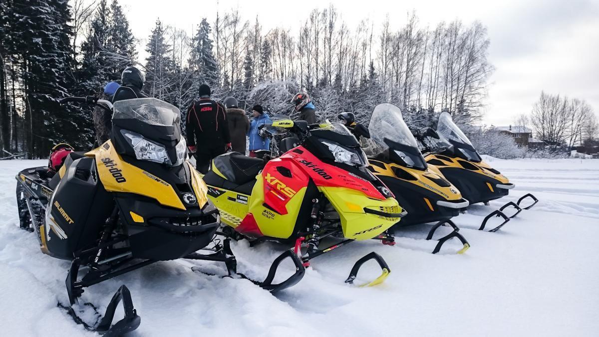 Снегоходы с двухтактным двигателем
