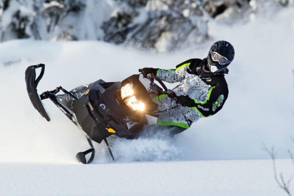 Каталог снегоходов BRP с характеристиками