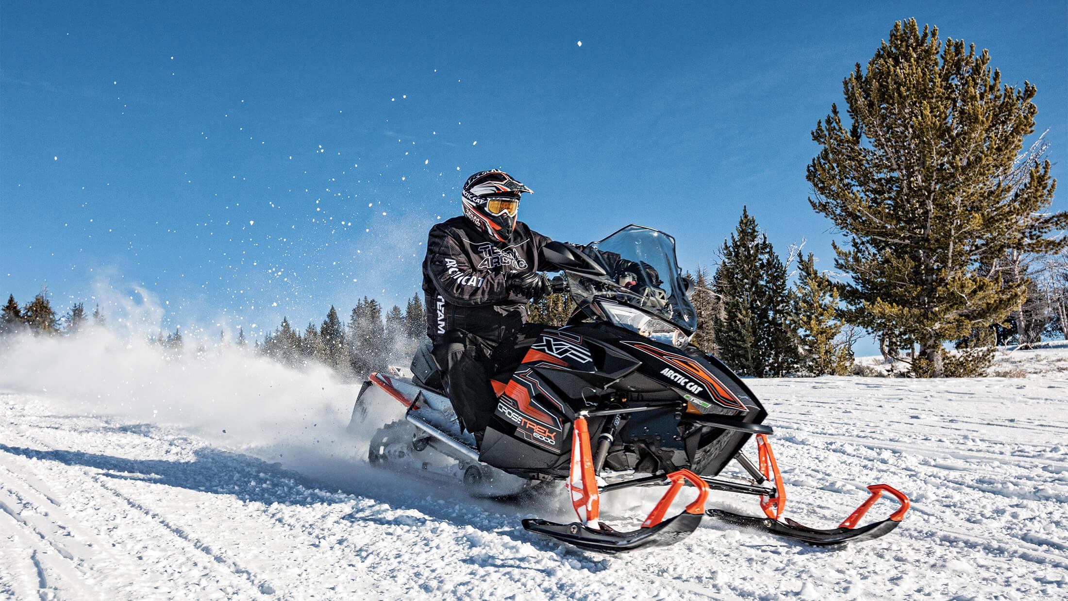 Максимальная скорость снегоходов