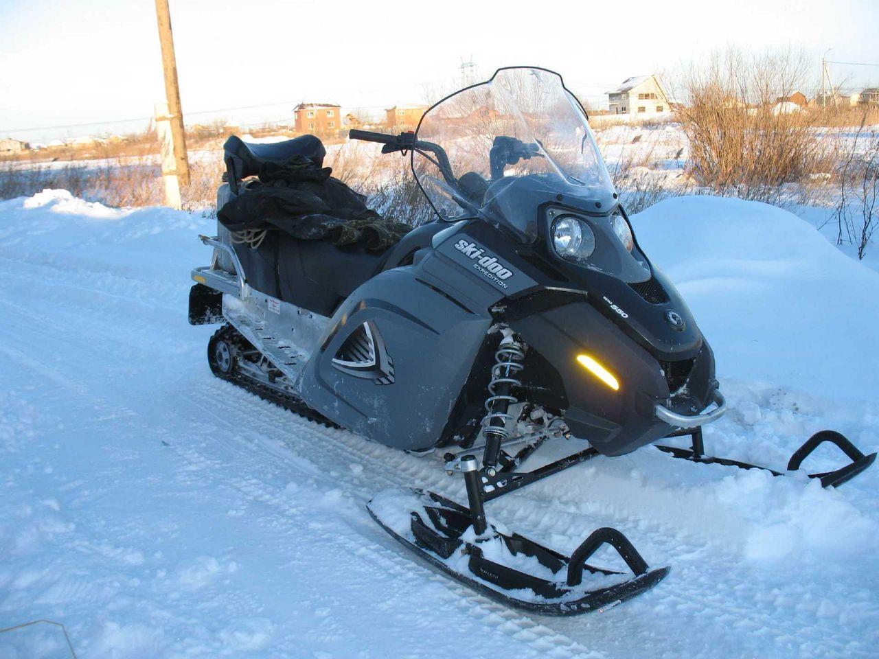 Модернизированные снегоходы