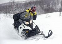 Драйв на снегоходах