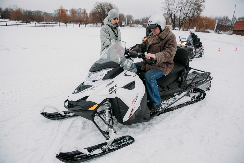 Купить удлиненный снегоход