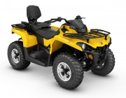 2016 Outlander L MAX DPS 570 Yellow_3-4 front копия