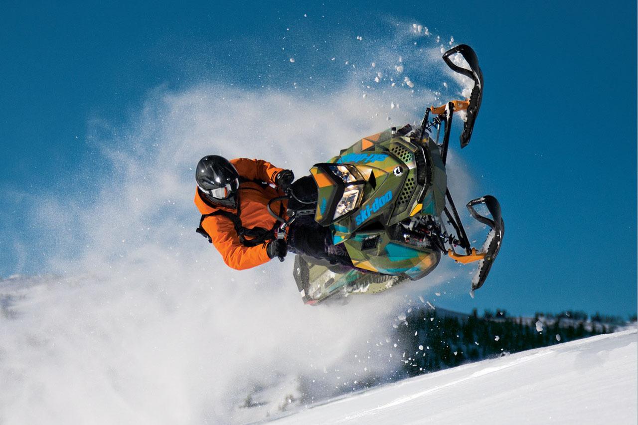 Горные снегоходы Ski Doo