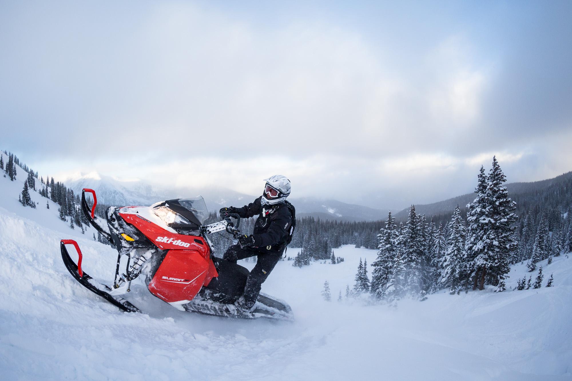 Подвеска горного снегохода