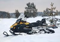 Снегоход с 500 кубовым двигателем