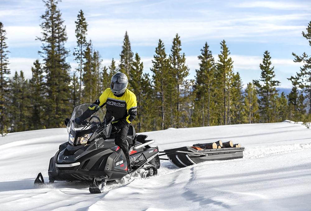 Утилитарный снегоход 2016
