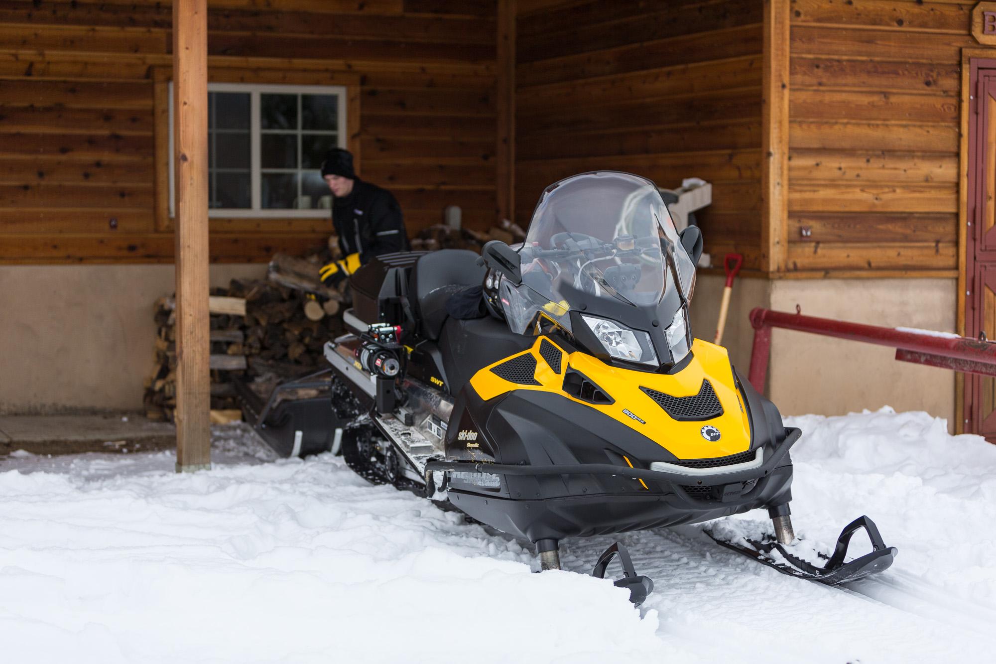 Утилитарный снегоход 500