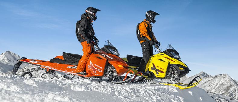 Новые снегоходы BRP 800