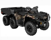 OUTLANDER 6X6 1000 XT - WITH FLAT BED KIT Camo