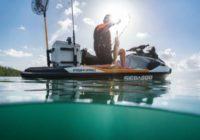 Компания BRP представляет первый гидроцикл, предназначенный специально для рыбаков: SEA-DOO FISH PRO 2019