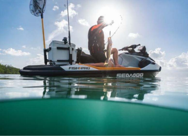 Модель Sea-Doo FISH PRO предназначена для рыбаков, желающих получить неоспоримое преимущество.